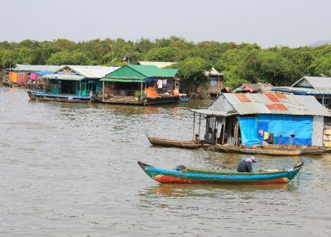 Tonle Sap Great Lake Queen Tara Day Tour