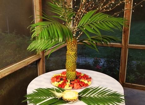 Fruit Platter on Queen Tara