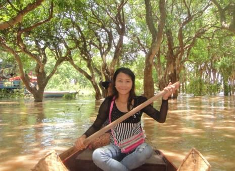 Kompong Phluk Flooded Forest